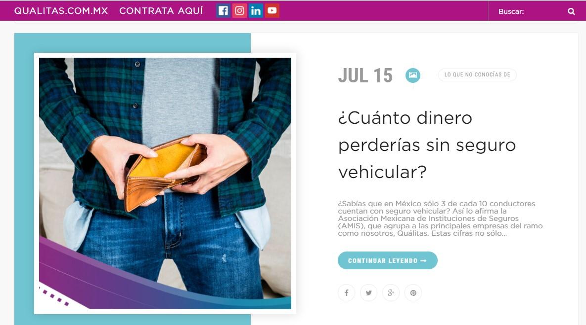 cuanto_dinero_perderias_sin_seguro_vehicular